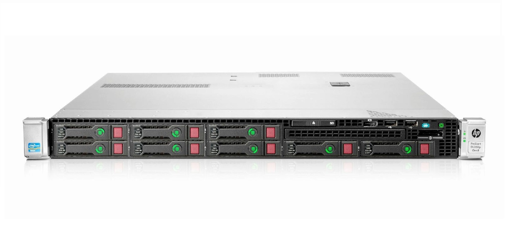 HP ProLiant DL360p Gen8 Intel Xeon E5-2630 2.3GHz 16GB 2x300GB Server M6D72A 677199-001