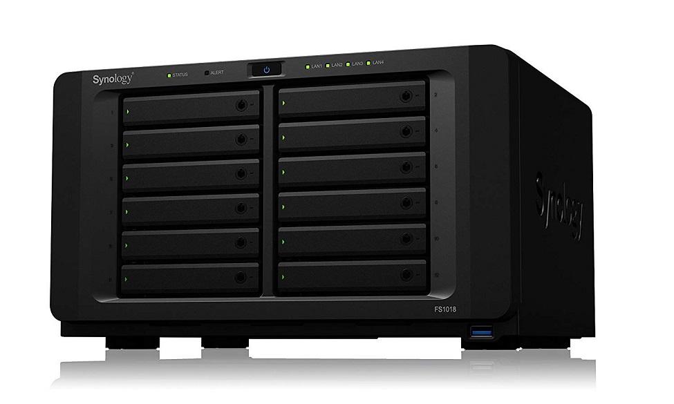 Synology Flashstation 12-Bay Intel Pentium D1508 2.2GHz 8GB NAS Enclosure FS1018