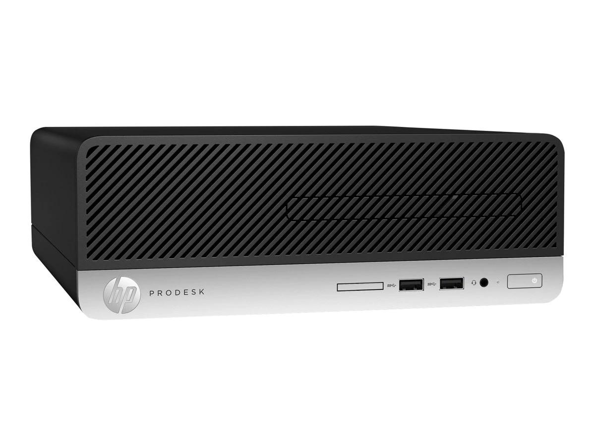 HP ProDesk 400 G5 Intel Core i3-8100 3.6GHz 4GB 500GB W10P SFF PC 4BW88UT#ABA