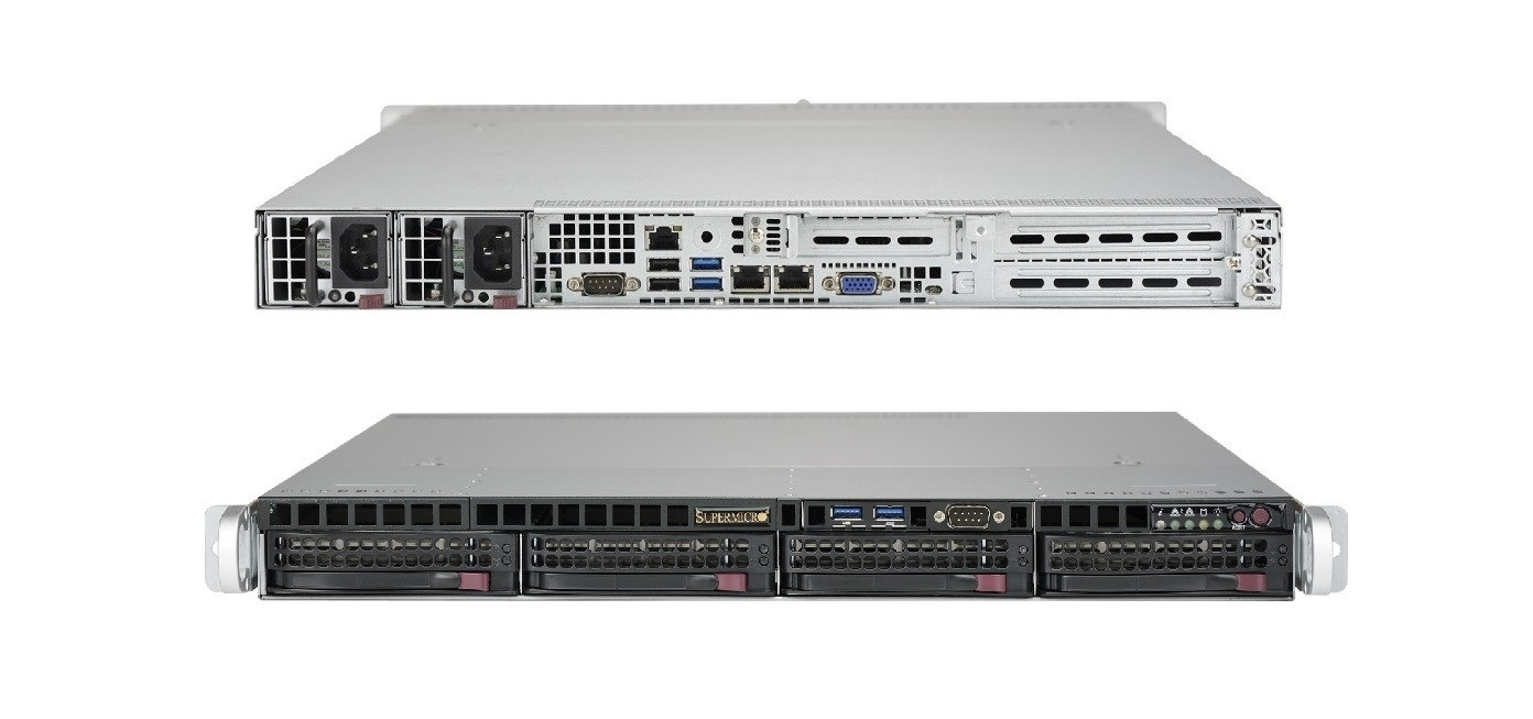 Supermicro Superserver Intel C622 Chipset No Cpu Hdd 2x P/S 1U Rack-Mountable Barebone System SYS-5019P-MTR