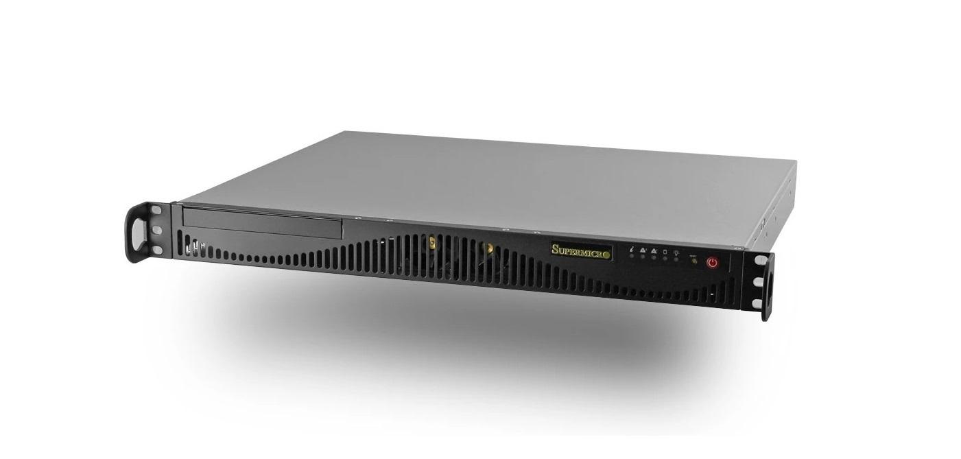 SuperMicro Server Barebone (No CPU No Ram No HDD) Rack-Mountable Black SYS-5019S-ML
