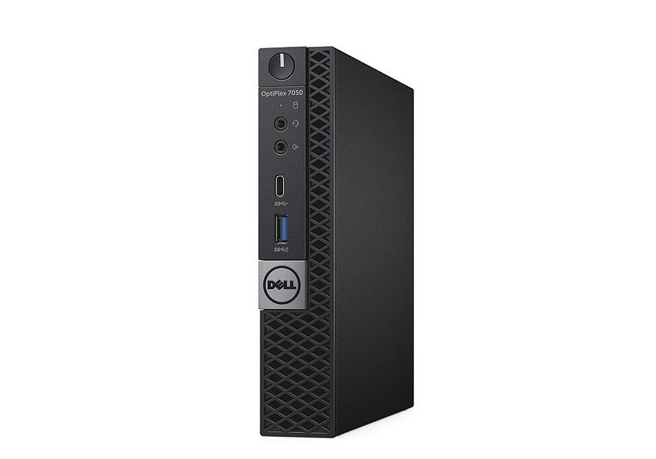 Dell OptiPlex 7050 Intel Core i5-7500T 2.7GHz 8GB 256GB M.2 Wireless Windows 10 Pro MFF Desktop DRR4T