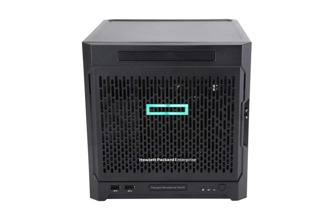 Hp Proliant Microserver Gen10 Amd X3418 Opteron Quad-Core 1.8GHz 8GB No Hdd Ultra Micro Tower P07203-S01 Nas Server