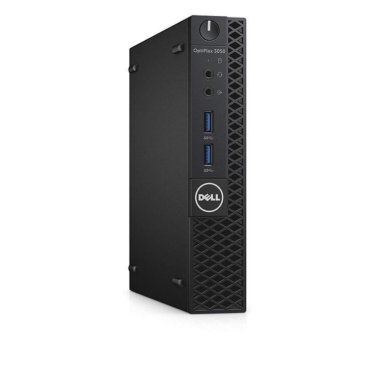 Dell OptiPlex 3050 Intel Core i3-6100T 3.2GHz 4GB 256GB W10P SFF PC