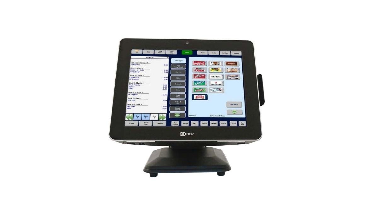 Ncr P1235 Pos System Terminal Celeron N3160 2.24GHz 8GB 128GB 15 Touch Windows 10 Pro 7745-3100-0011