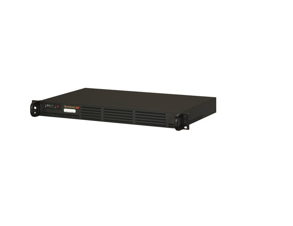 Super Micro 5017P-TLN4F Intel Core i7-3612QE ECC DDR3 200W 1U Super Server SYS-5017P-TLN4F