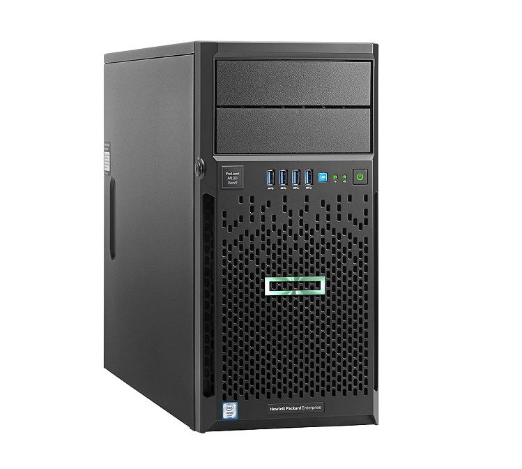 HP ML30 GEN9 Intel 1x Xeon E3-1220V6 3.0GHz 8GB (No HDD) 1x P/S Matrox G200 4U Server 872658-001
