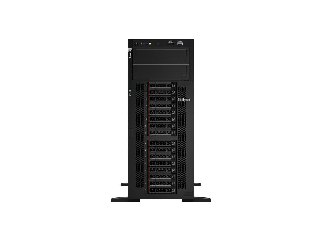 Lenovo Thinksystem ST550 Xeon Bronze 3204 1.90GHz 16GB (No Hdd Os) 1x P/S 750W 7X10A0APNA 4U Tower Server