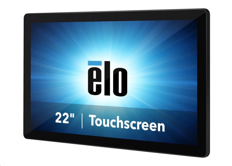 Elo I-Series ESY22i3 Intel Core i3 8100T 3.1GHz 8GB 128GB Win10 Iot 22Touch Aio E850591
