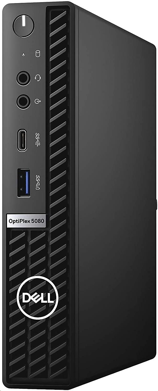 Dell Optiplex 5080 Intel Core i7-10700H 2.0GHz 16GB 256GB W10P Mff Pc HV4J1