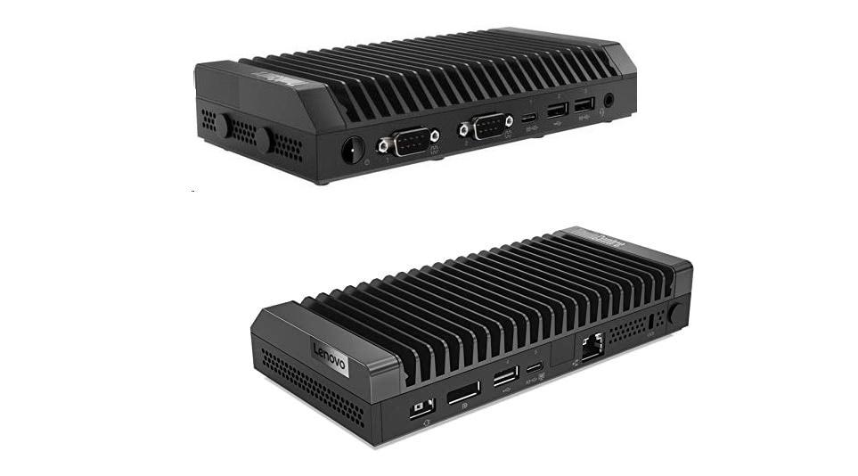 Lenovo ThinkCentre M75n Iot AMD Athlon Silver 3050e 1.4GHz 4GB 128GB M.2 Wireless Terminal OS Computer 11BW0002US