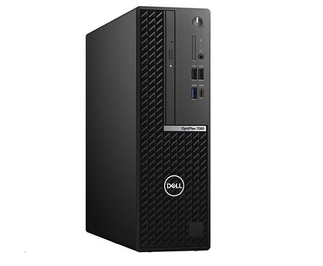 Dell OptiPlex 7080 Intel Core i5-10600 3.3GHz 8GB 2TB Sata + 128GB Ssd Windows 10 Pro Sff OPTIPLEX-7080