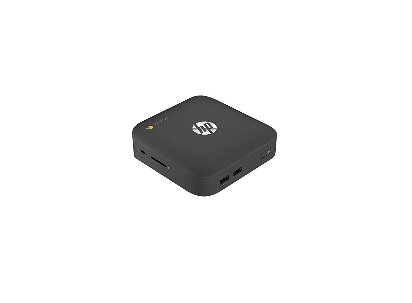 HP Chromebox Intel Celeron 2955U 1.4GHz 4GB 16GB SSD 802.11 b/g/n BT Chrome OS Ultra SFF J5N50UT#ABA