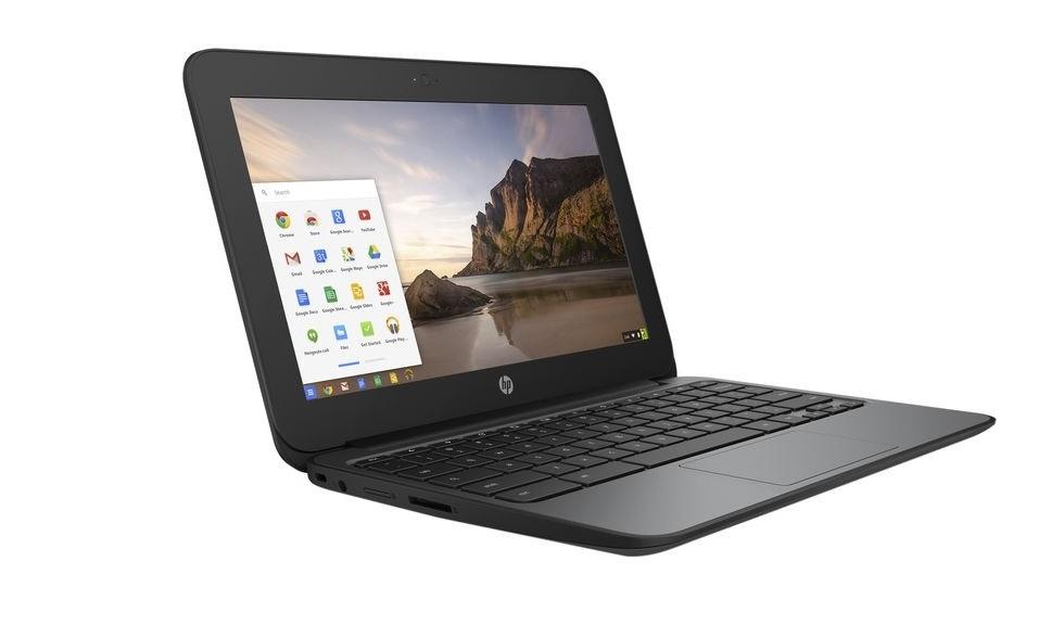 HP Chromebook 11 G4 Ee Intel Celeron N2840 2.16GHz 4GB 16GB SSD WebCam 11.6 Chrome OS V2W30UT#ABA