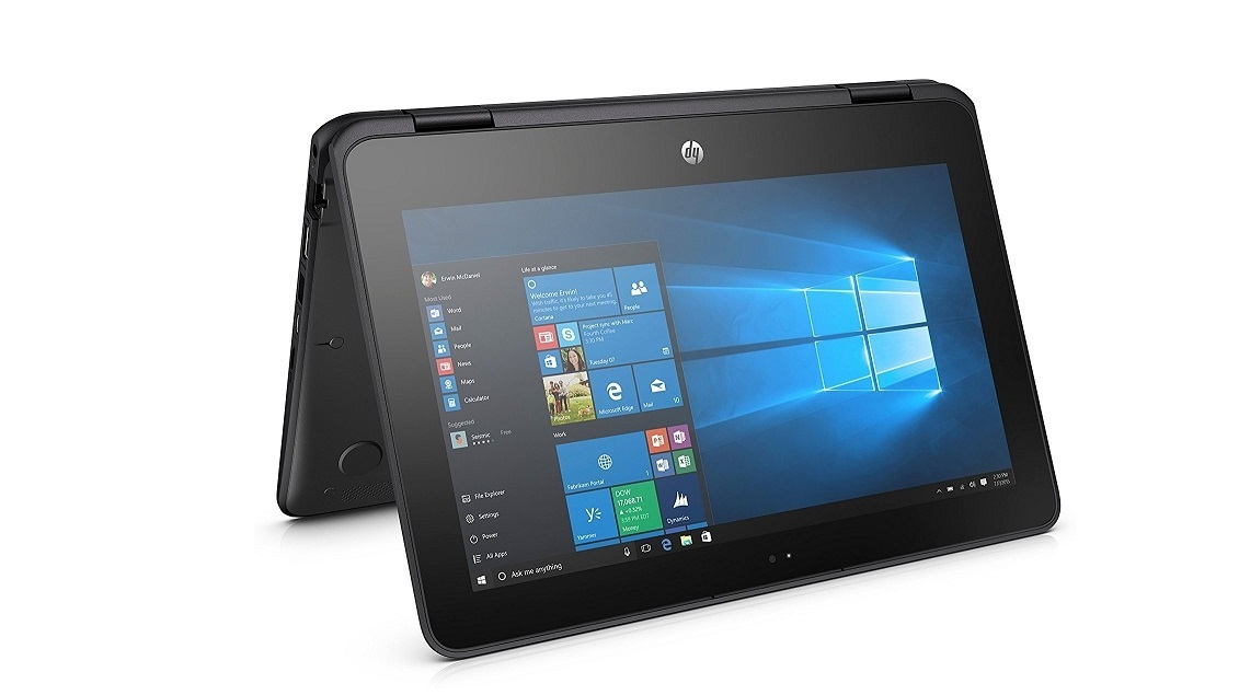 HP ProBook X360 11 G1 Intel Pentium N4200 1.1GHz 4GB 128GB WebCam 11.6 TouchScreen Y3K68AV Windows 10 Pro 4RU73UP#ABA