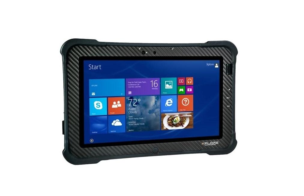 Xplore Xslate B10 Rugged Tablet Intel Core i5-5350U 1.8GHz 8GB 128GB Webcam 10.1 Touch Windows 10 Pro 200263