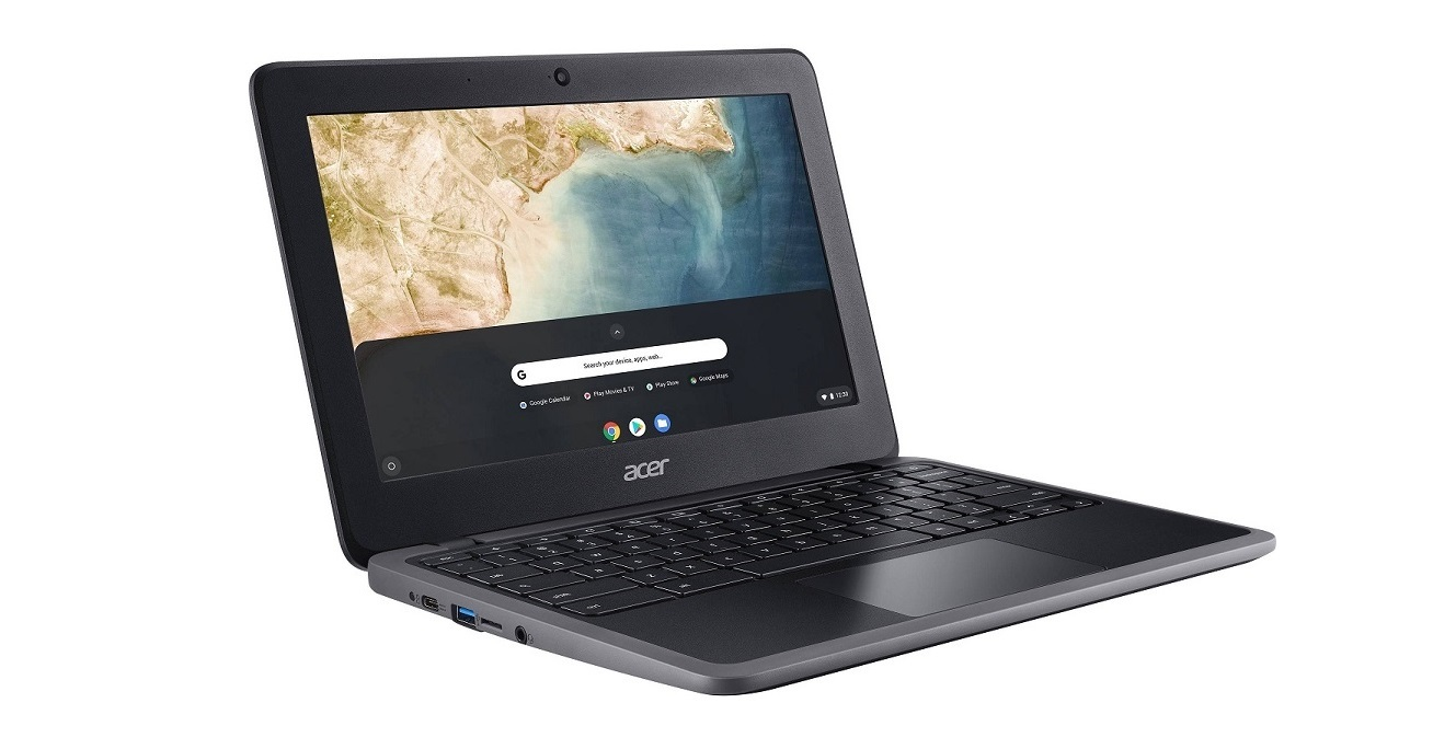 Acer C733-C37P Chromebook Intel Celeron N4000 1.1GHz 4GB 32GB WebCam 11.6 USB-C Chrome OS NX.H8VAA.002