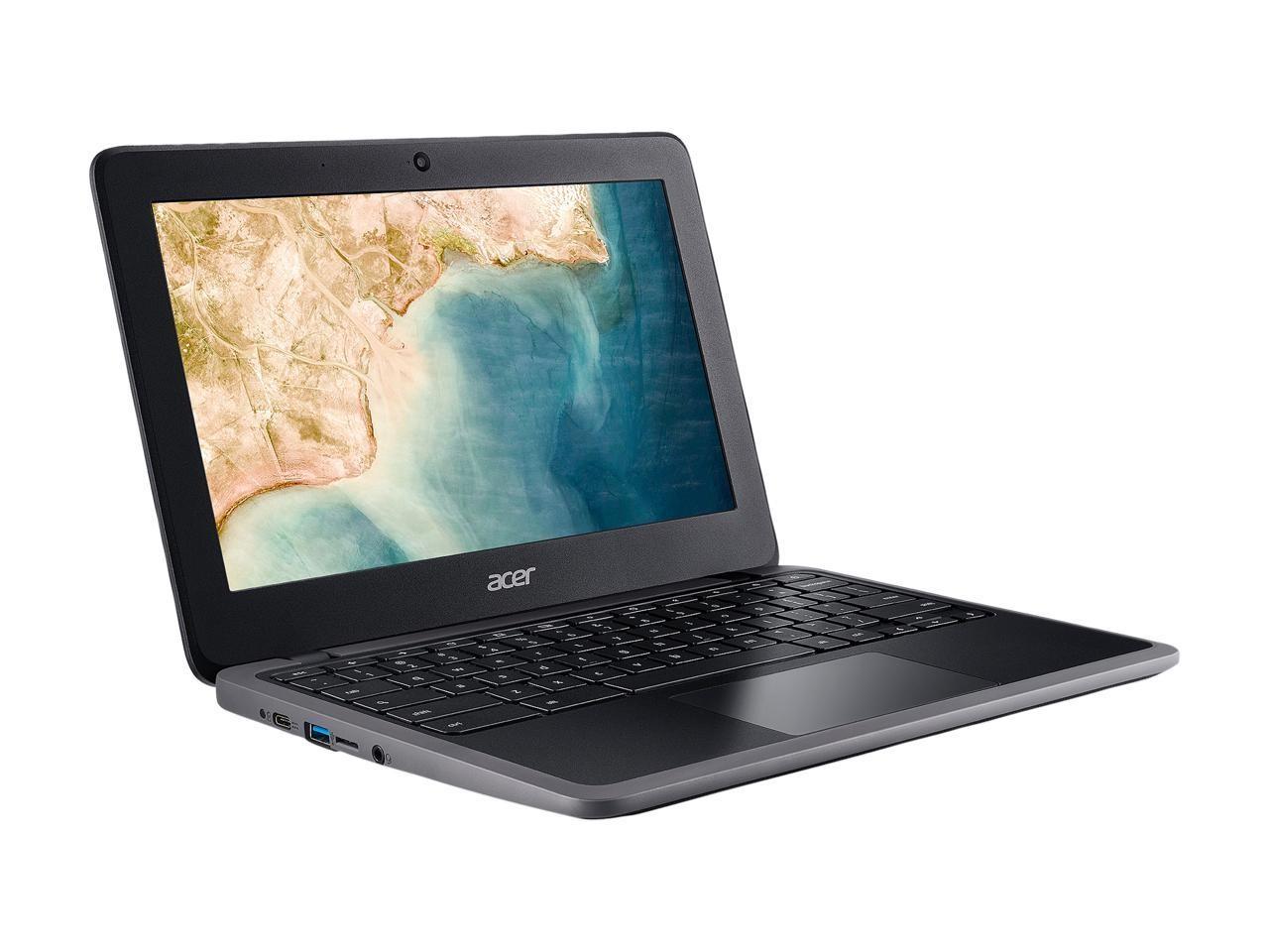 Acer C733T-C8SZ Chromebook 311 Intel Celeron N4000 1.1GHz 4GB 32GB WebCam 11.6 TouchScreen NX.H8WAA.001 Chrome OS