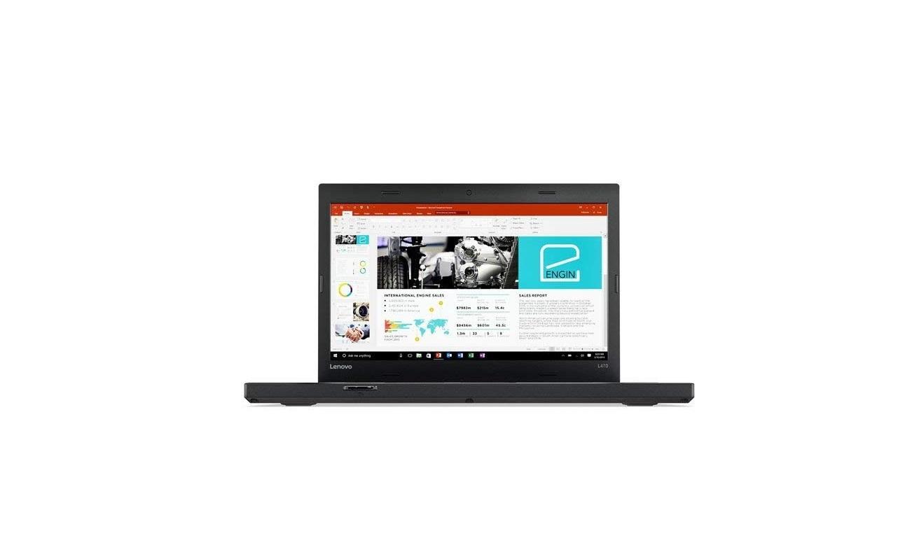 Lenovo ThinkPad L470 Intel Core i5 6300U 2.4GHz 8GB 256GB 14 Win10P 20JVS02N00