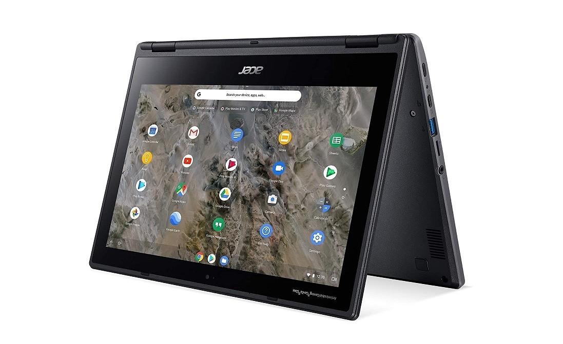 Acer R721T-28RM Chromebook AMD A4 9120C 1.60GHz 4GB 32GB WebCam 11.6 TouchScreen NX.HBRAA.001 Chrome OS