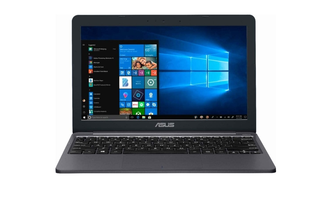 Asus VivoBook E12 E203MA Celeron N4000 1.1GHz 4GB 64GB 11.6 Windows 10 Pro E203MA-XS02