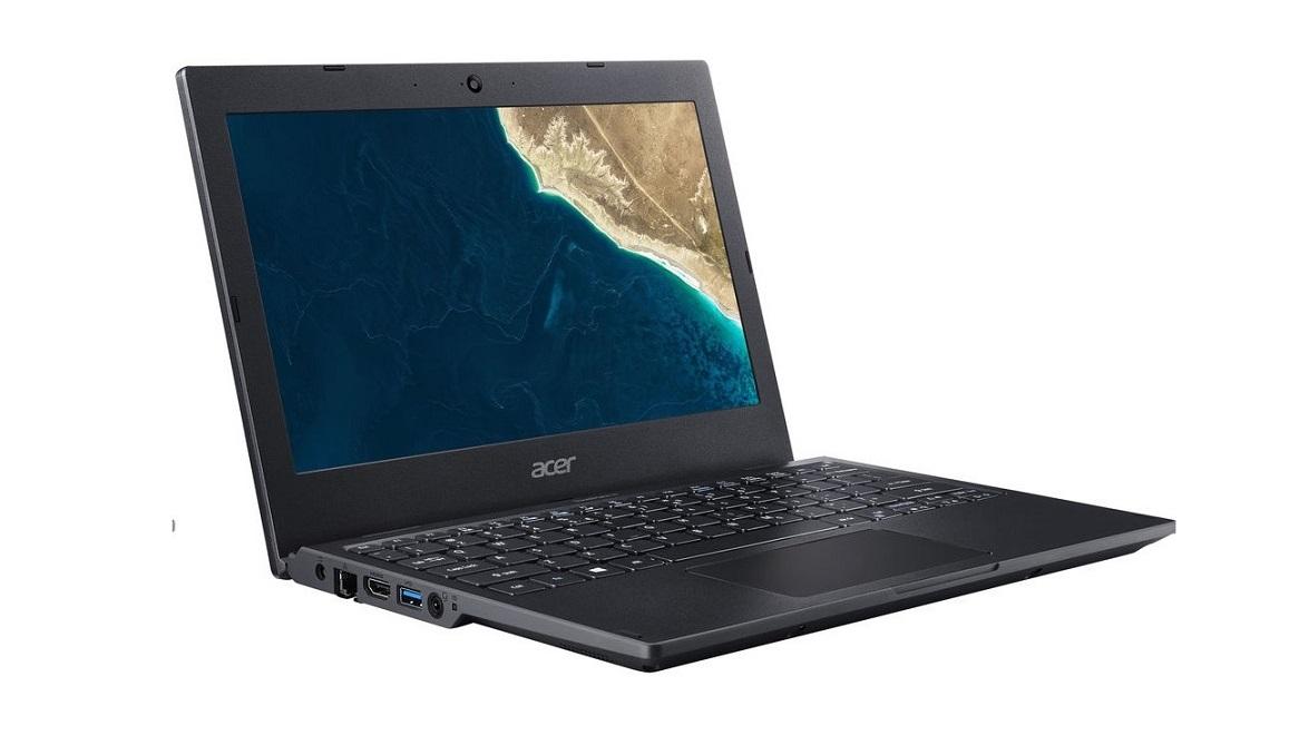 Acer Travelmate TMB118 Intel Celeron N4000 1.1GHz 4GB 64GB 11.6 Webcam Windows 10 Pro Notebook NX.VHSAA.002