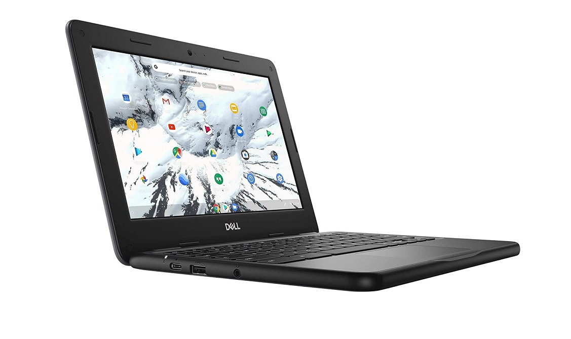 Dell 3100 Intel Celeron N4020 1.1GHz 4GB 32GB Webcam 11.6 Touchscreen Chromebook Chrome Os VH5H8