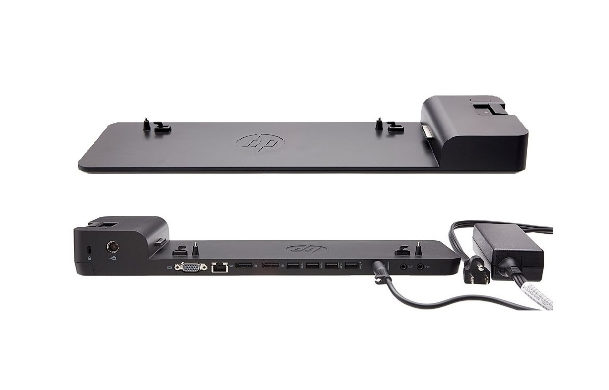 HP D9Y32AA#ABA UltraSlim 2013 Docking Station D9Y32AA