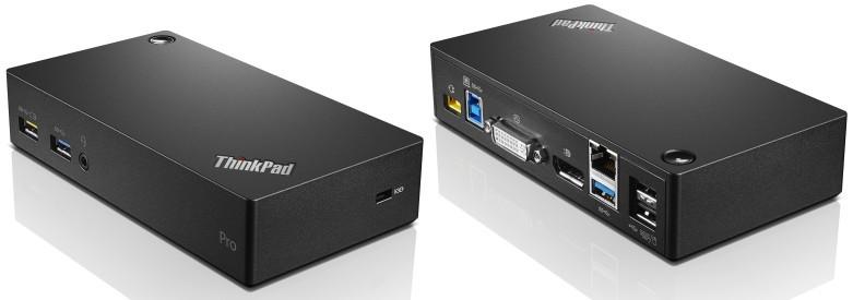 Lenovo ThinkPad USB 3.0 Pro Docking Station 40A70045US