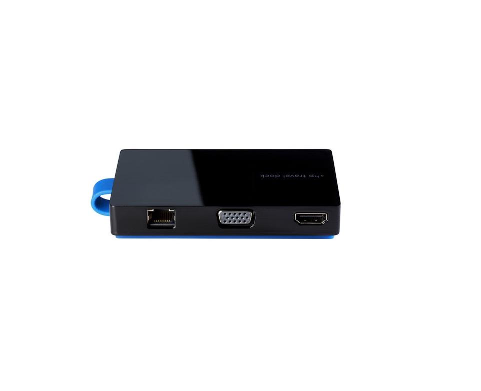 HP USB Travel Dock For EliteBook T0K30UT#ABA T0K30AA