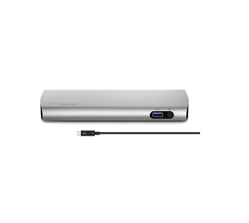 Belkin Thunderbolt 3 Express 3x USB DP Audio Dock HD B2B151TT