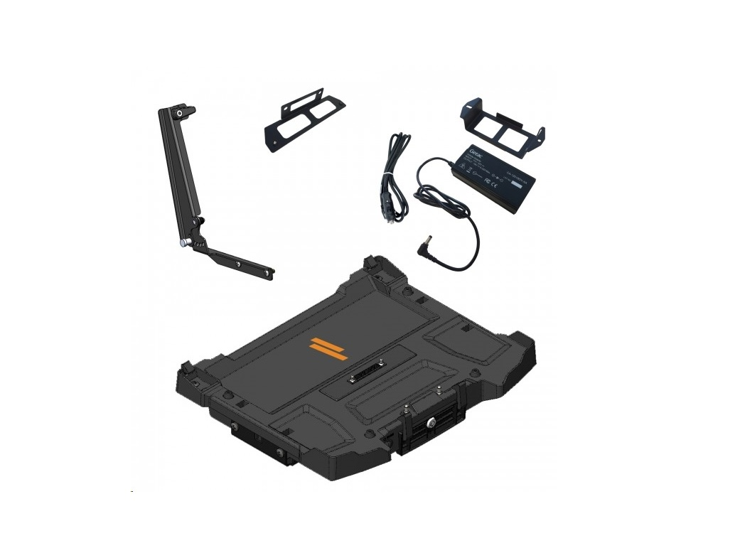 Havis Docking Station For Getac's S410 Notebook With Power Supply And Mounting Brackets PKG-DS-GTC-617