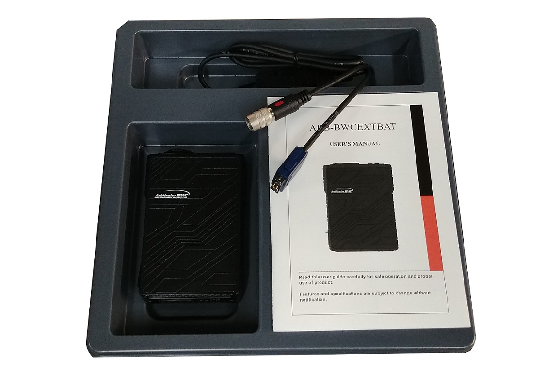 Panasonic External Camera Battery Pack With Cable ARB-BWCEXBATCBL