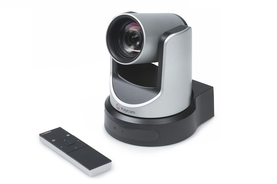Polycom 7230-60896-001 EagleEye IV 1920x1080 12x Zoom USB MSR PTZ Conference Camera