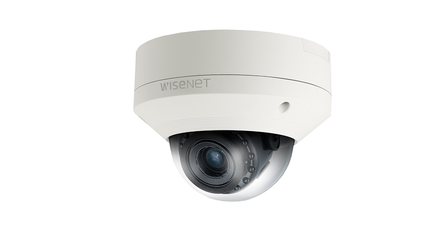 Hanwha Samsung 2MP Full HD Vandal-Resistant Network Dome Camera SNV-6084N Camera Only No ACC