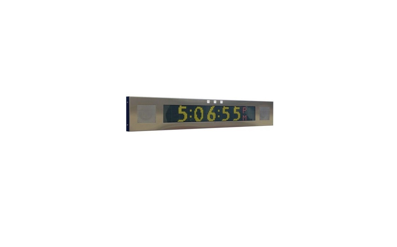 Advanced Network Devices IP Clock and Digital Signboard IPSIGNL-RWBIC Ipsignlrwbic