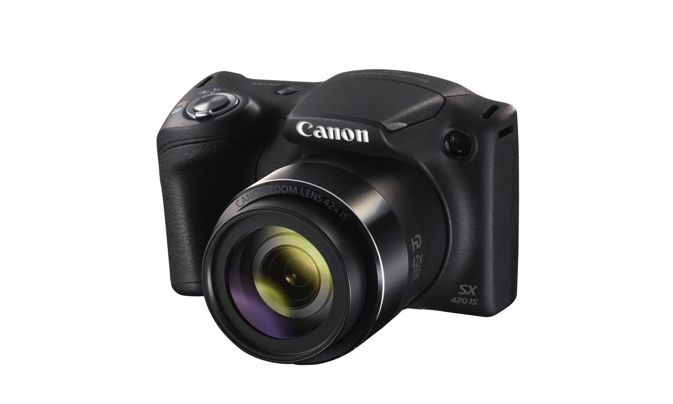 Canon PowerShot SX420 IS 20 MP 42x Optical Zoom Digital Camera Black 1068C001