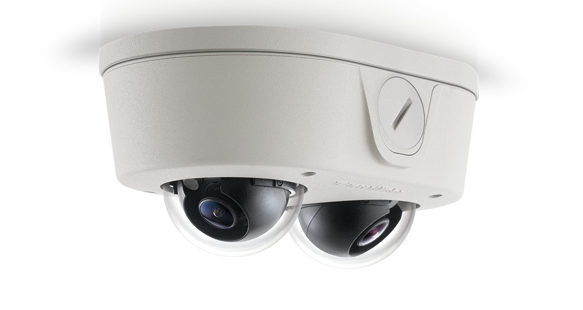 Arecont Vision AV4655DN-28 Microdome DUO Series 4MP 2.8mm Lenses AV4655DN-28 Outdoor Network Dome Camera