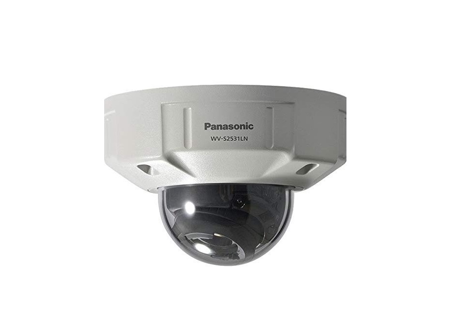 Panasonic Outdoor FullHD 1920x1080 Network IP Weatherproof Dome Camera WV-S2531LN