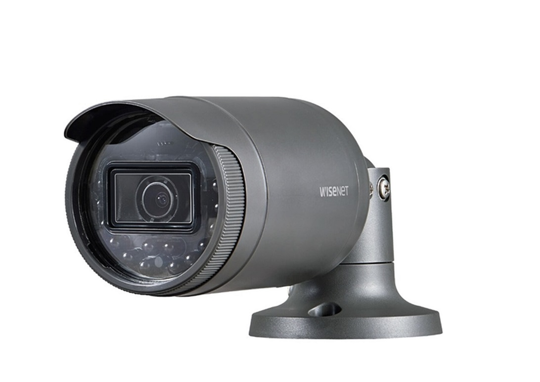 Hanwha Samsung 2MP IR Bullet Outdoor Network Security Camera LNO-6011R