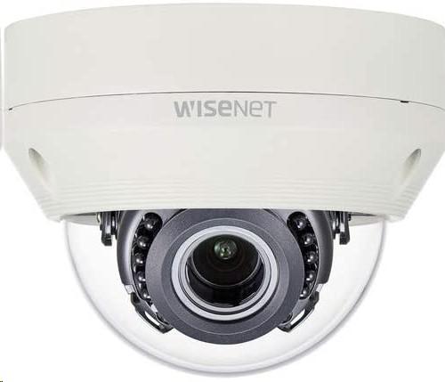 Hanwha Techwin Wisenet HD+ 4MP Ahd Outdoor Dome Camera With Night Vision HCV-7070R