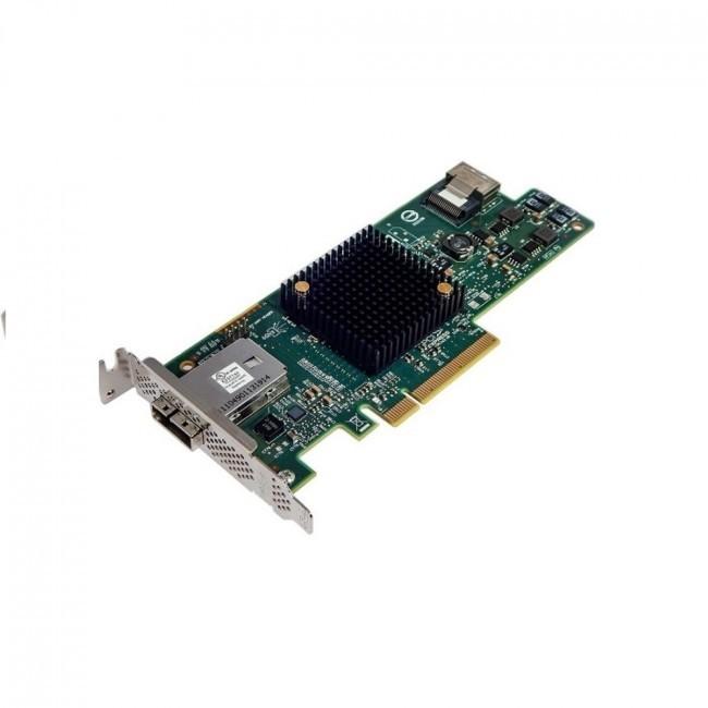 LSI Logic SAS 9207-4i4e LSI LSI00303 SAS SATA 6GB/s Low Profile Bracket PCI Express 3.0 Storage Controller LSI00303
