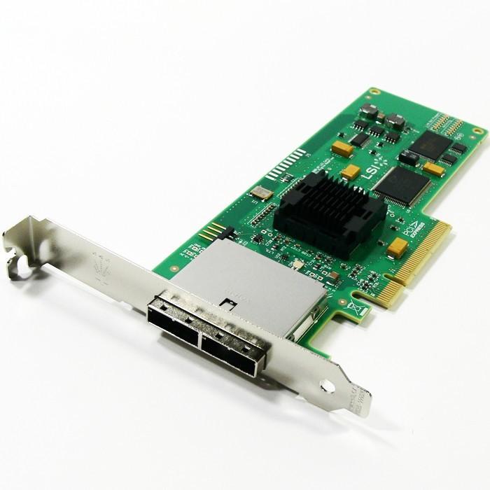 LSI SAS 3801E Kit 8-Ports 3G Mini SAS PCI-E Standard Profile Bracket LSI00138