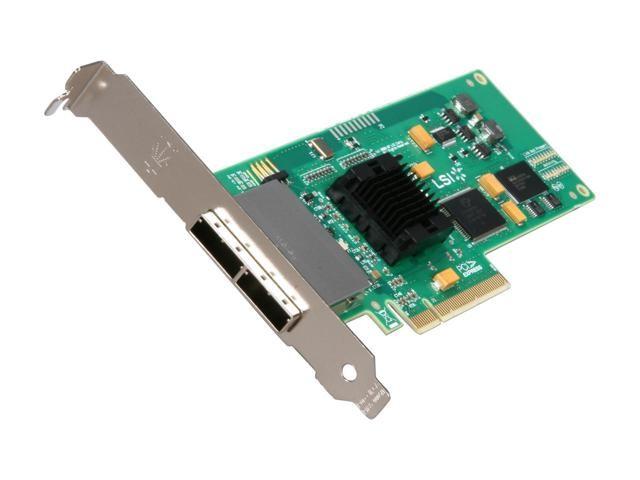 LSI Logic SAS 3801E 8-Ports 3G Mini SAS PCI-E L3-01123-04E