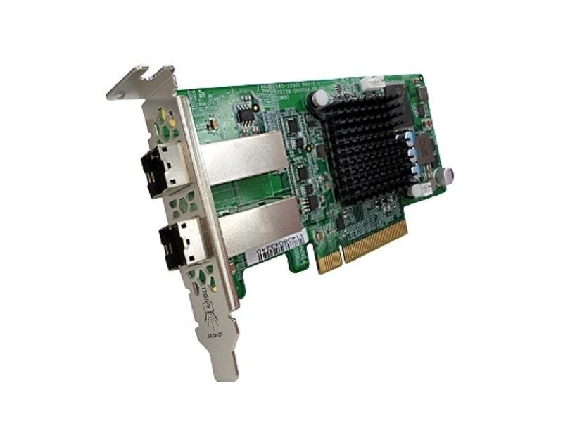 Qnap 12GB SAS Dual-Port Storage Expansion Card SAS-12G2E