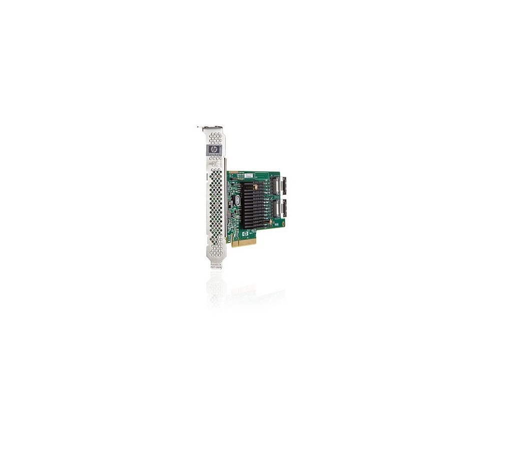HP H220 Host Bus SATA Adapter PCI-E 3.0 x8 6GB Storage Controller 638834-001