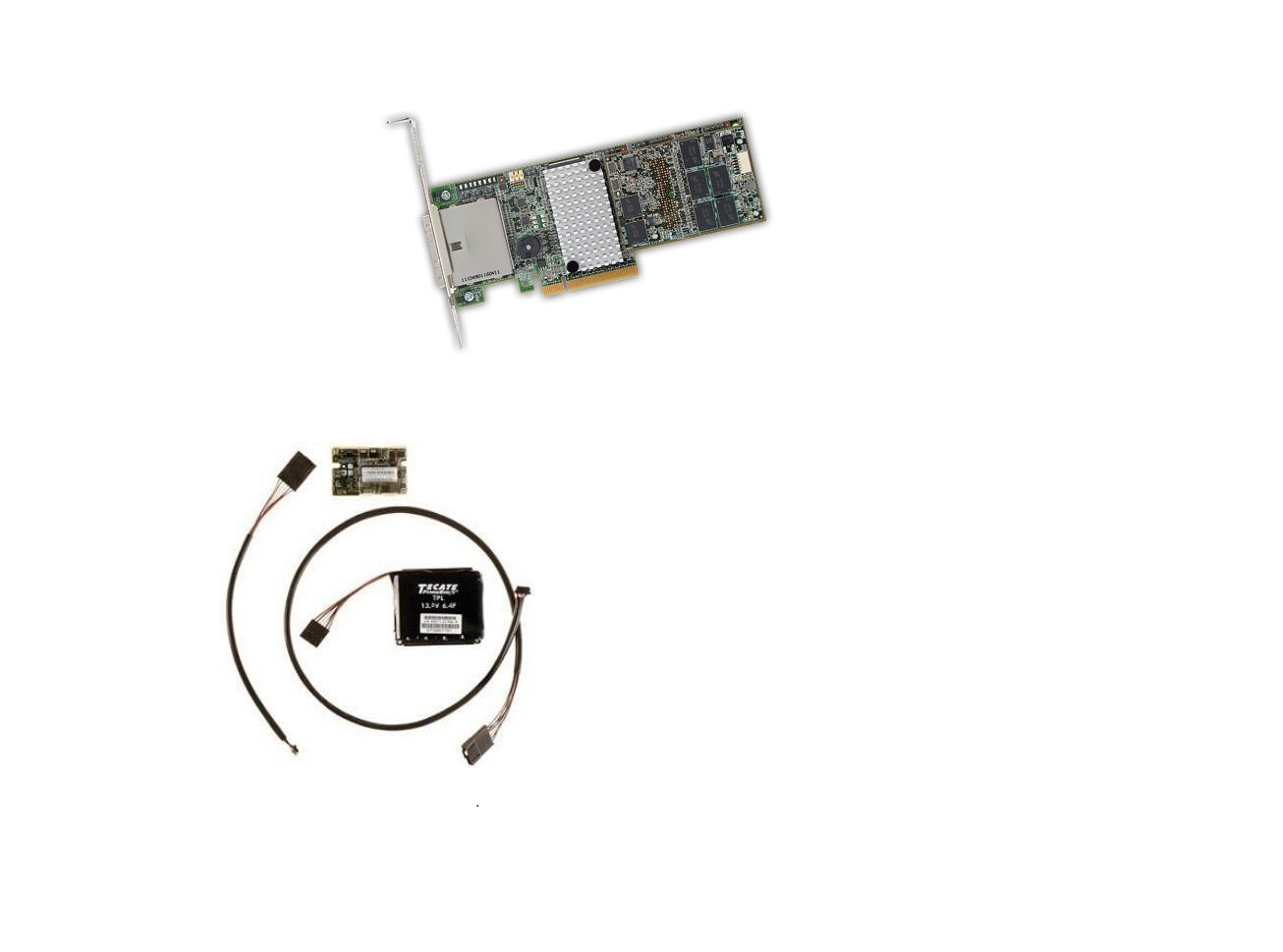 LSI Logic MegaRaid 9286CV-8e 8-Ports SAS PCI Express 3.0 RAID Controller w/Battery