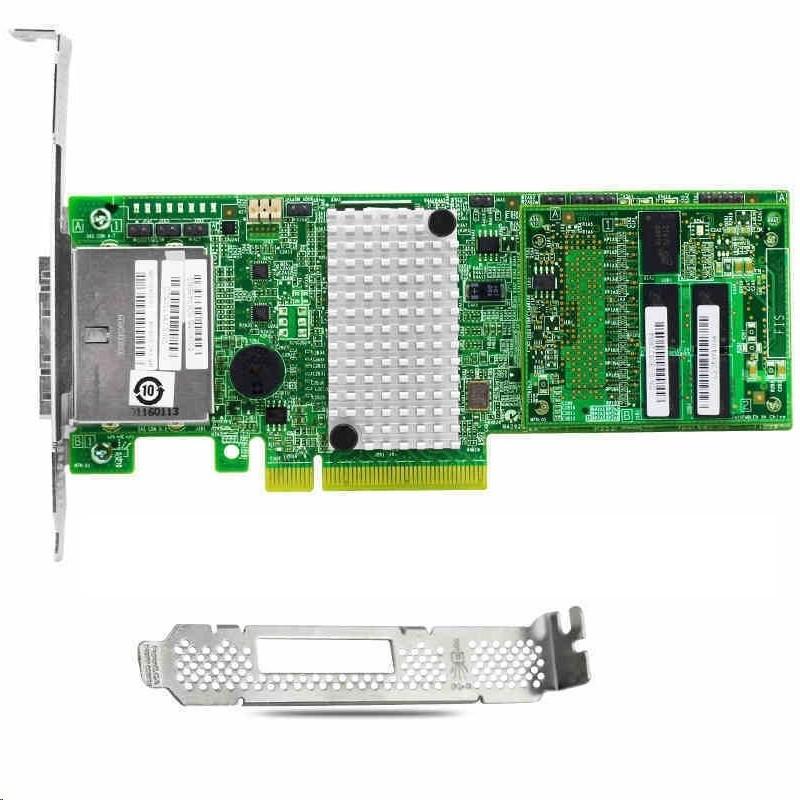 LSI Logic MegaRaid 9286-8e 8-Ports SAS Controller SCSI (SAS) PCI Express 3.0 x8 L5-25421-20