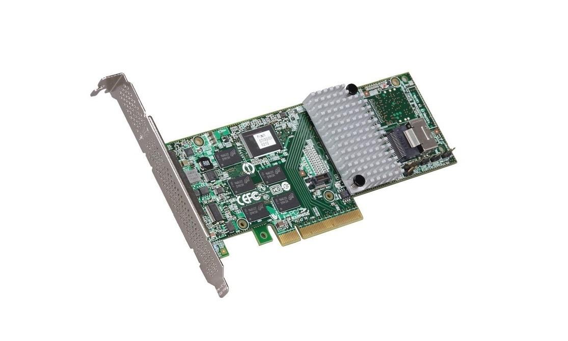 LSI 3Ware SAS 9750-4I 4-Ports 6G/s PCI Express SAS RAID Controller (LSI00216)