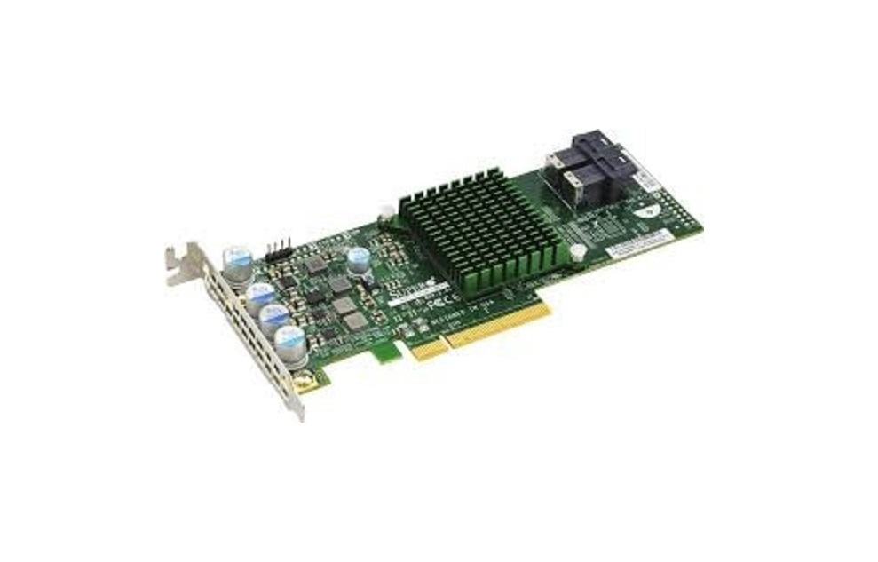 Supermicro 12GB/s Eight-Port Sas Pci Express Internal Raid Adapter Controller AOC-S3008L-L8I